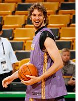 Pau Gasol of the Los Angeles. Click image to expand.