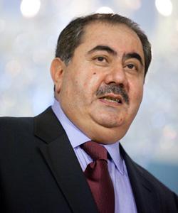 Iraqi Foreign Minister Hoshyar Zebari. Click image to expand.