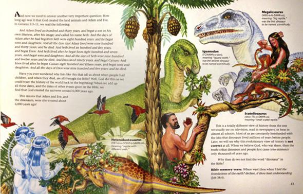 """Dinosaurs of Eden"" by Ken Ham."