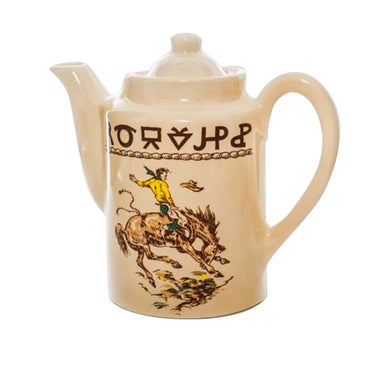 Rodeo Ranchware Coffee Pot