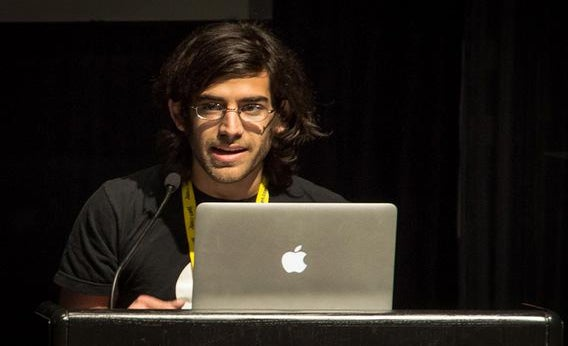 Aaron Swartz speaking at the Freedom to Connect conference