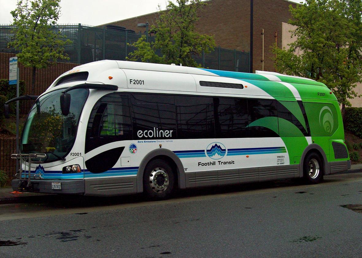 2010 Foothill Transit Proterra EcoRide.