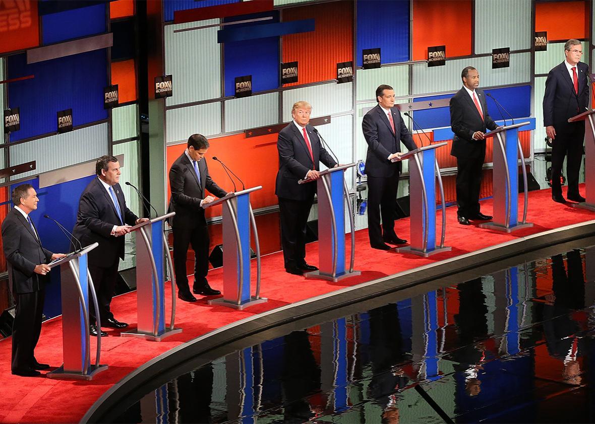 debate gun control.