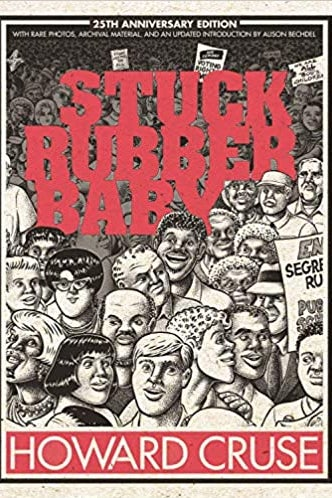 Book jacket for Stuck Rubber Baby.