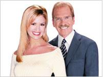 Nancy O'Dell and Pat O'Brien