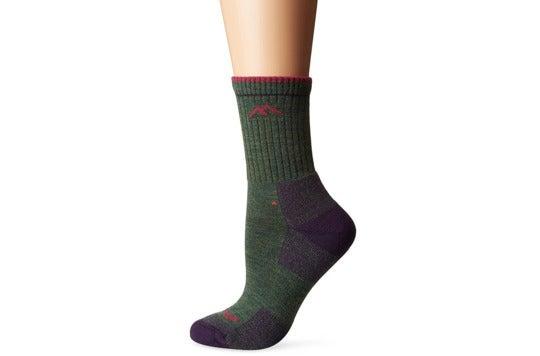 Green sock.