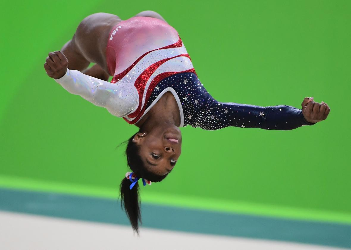 Gymnastics Floor At The 2016 Olympics