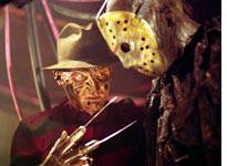 Freddy and Jason come face to face with death