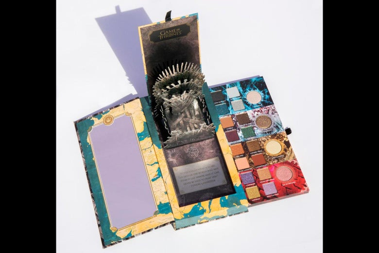 Urban Decay's Game of Thrones–themed makeup set, retailing for $250.