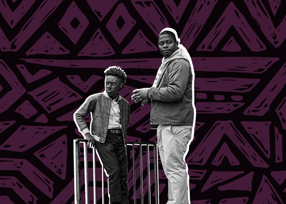 Jason Mitchell and Alex R. Hibbert in The Chi (2018)