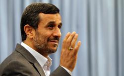 Ahmadinejad. Click image to expand.