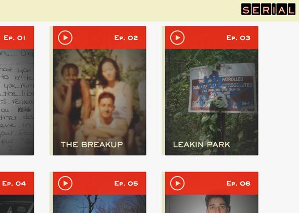Screengrab of Serial.