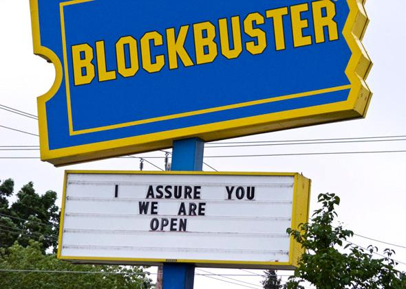 I assure you we are open.