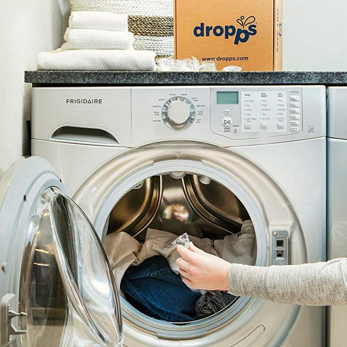 Unscented Dropps Laundry Detergent Pods