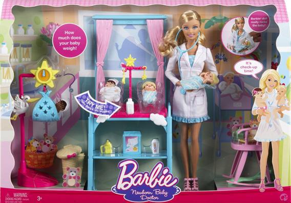 Newborn Baby Doctor Barbie.