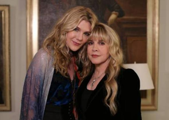 Lily Rabe as Misty Day and Stevie Nicks as herself.
