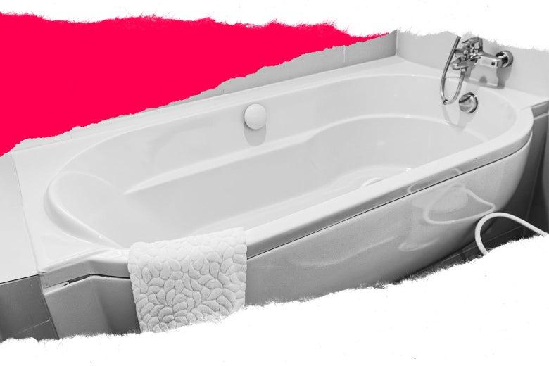 Help! My Dads Friend Peed in My Bathtub....