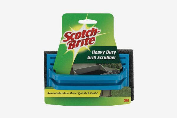 Scotch-Brite 7721 Grill Scrub, 6 in L x 4 in W, Synthetic Fiber