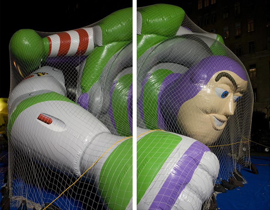 Frank Hallam Day, Blown Ups, Buzz Lightyear