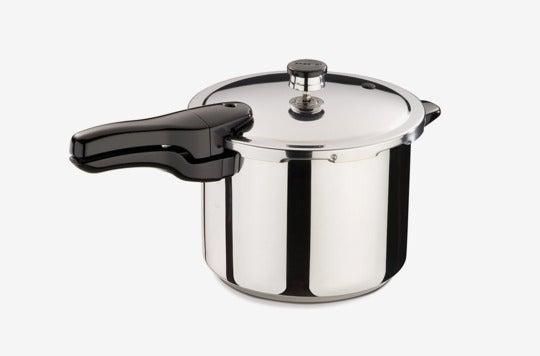 Presto 01362 6-Quart Stainless Steel Pressure Cooker.