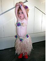 Tallulah hula girl