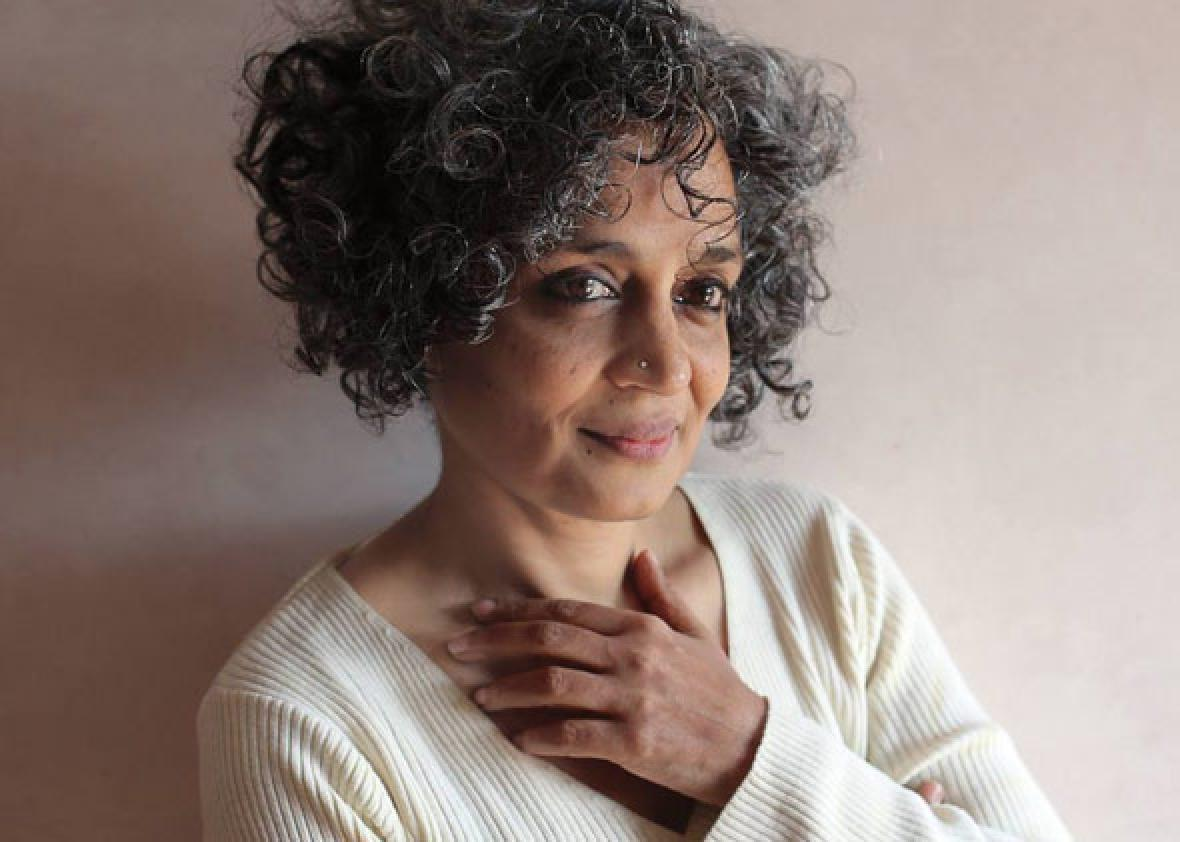 An interview with Arundhati Roy, whose novel The Ministry of