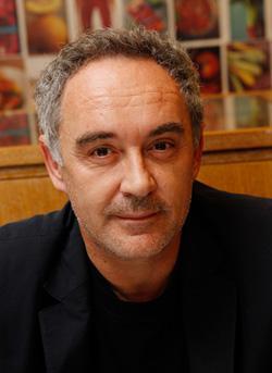 Chef Ferran Adria. Click image to expand.