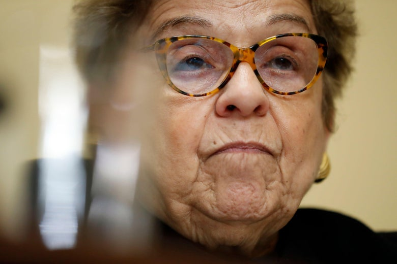 Donna Shalala at a hearing.