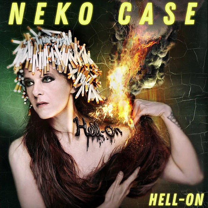 The cover for Neko Case's Hell-On.
