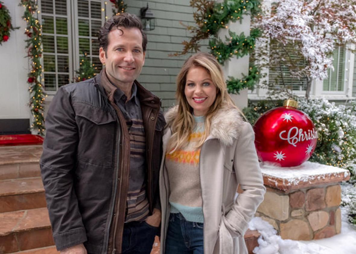 Switched for Christmas starring Candace Cameron Bure