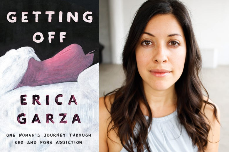 "Erica Garza and her book ""Getting Off: One Woman's Journey Through Sex and Porn Addiction."""