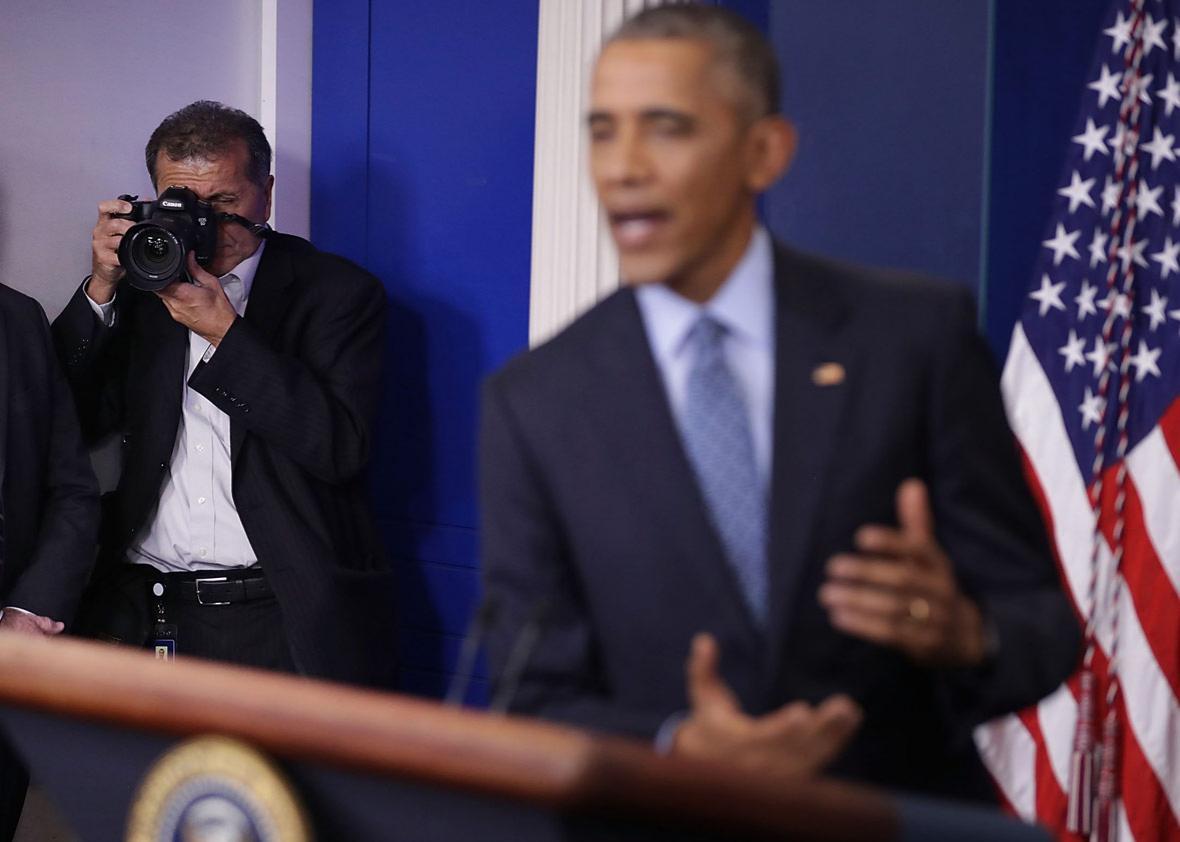 White House Chief Photographer Pete Souza