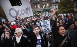 Occupy Wall Street protesters.