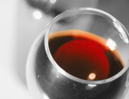 Burgundy wine.