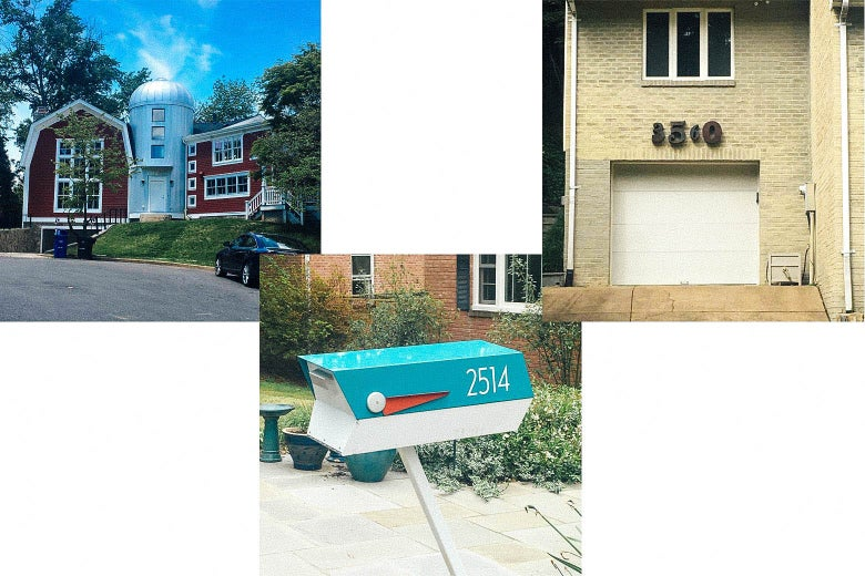 North Arlington's wildest house, North Arlington's funkiest address numbers, and North Arlington's coolest mailbox.