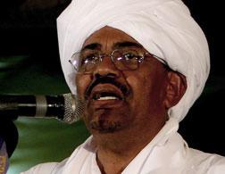 Sudanese President Omar al-Bashir. Click image to expand.