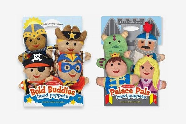 Melissa & Doug Adventure Hand Puppets