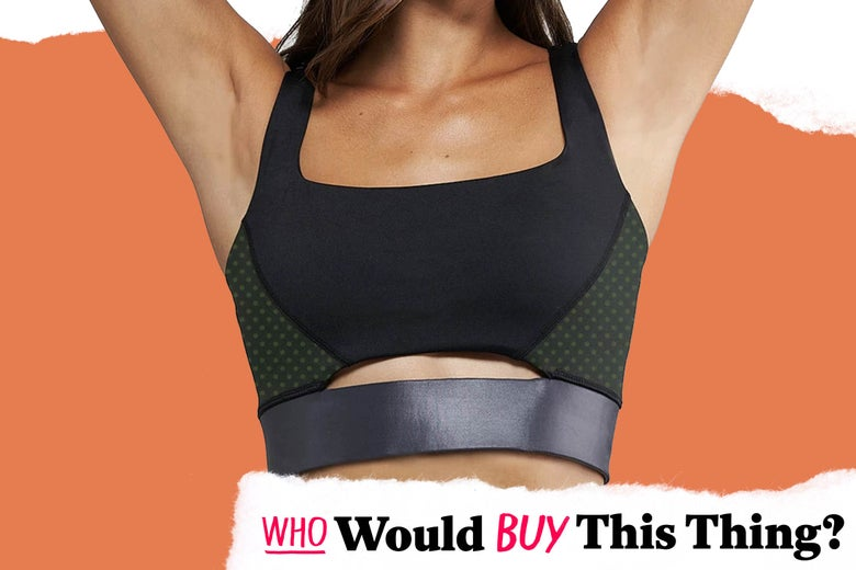 A CBD-infused sports bra.