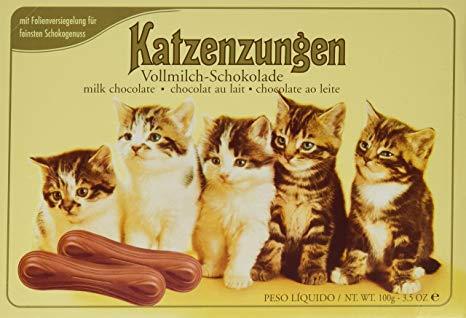 Waldbaur Chocolate Cat Tongues