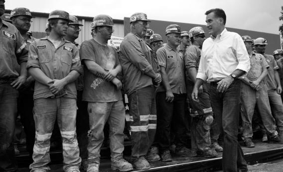 Romney and coal miners