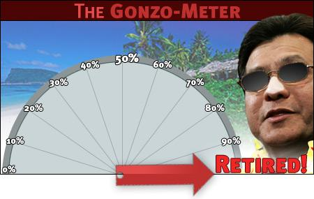 The Gonzo-Meter.