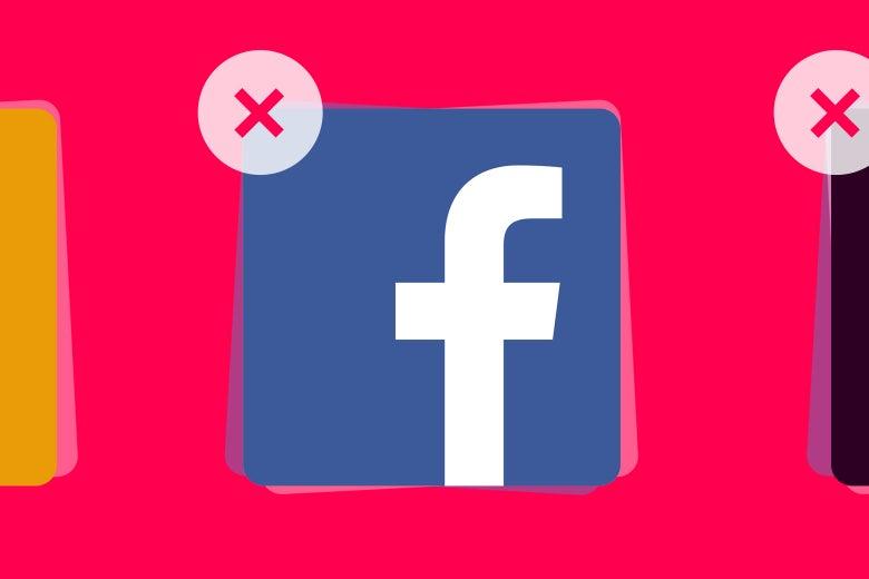 Illustration: the Facebook app icon.