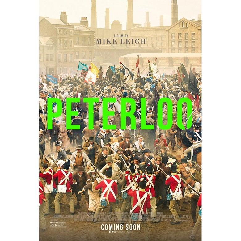 Peterloo poster