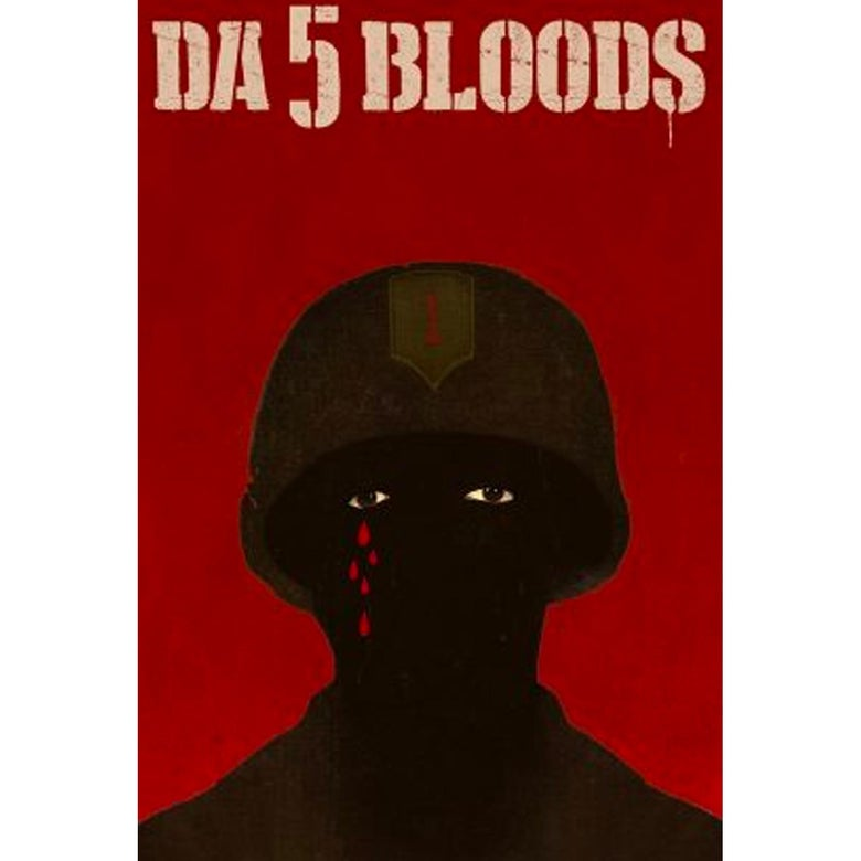 The poster for Da 5 Bloods.