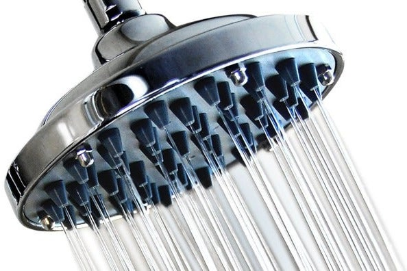 WantBa 6 Inch High Pressure Rainfall Massage Shower Head