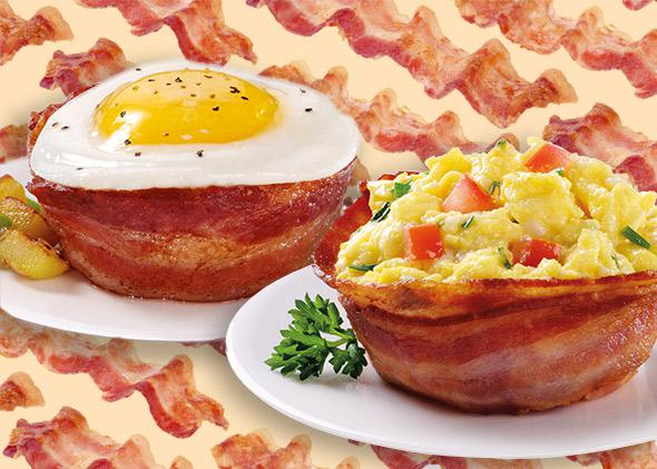 The Perfect Bacon Bowl.