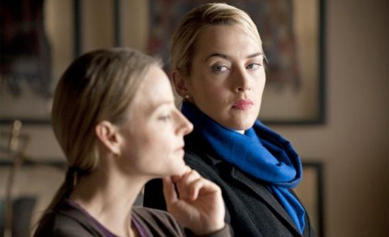 Jodie Foster and Kate Winslet in Carnage