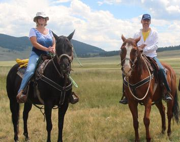 scienc egetaways horseback riding