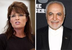 Sarah Palin (left) and Imam Feisal Abdul Rauf. Click image to expand.