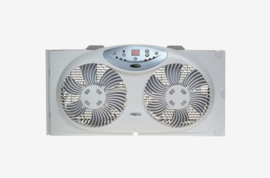 Bionaire Twin Reversible Airflow Window Fan.